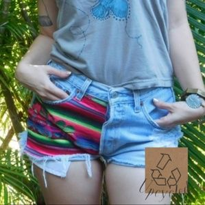 Vintage Upcycled Levis Shorts